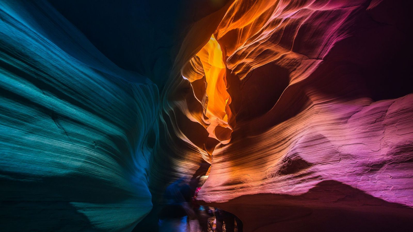 Antelope Canyon impressions
